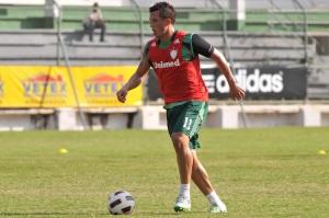 Diogo é liberado e Abel Braga define Fluminense para clássico Fla-Flu