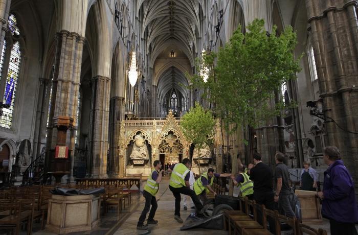 De Westminster, Como Parte Da Decoração Do Casamento (Sang Tan/27.04~ Decoracao Do Casamento De Kate Middleton