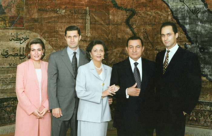 família-mubarak-egito