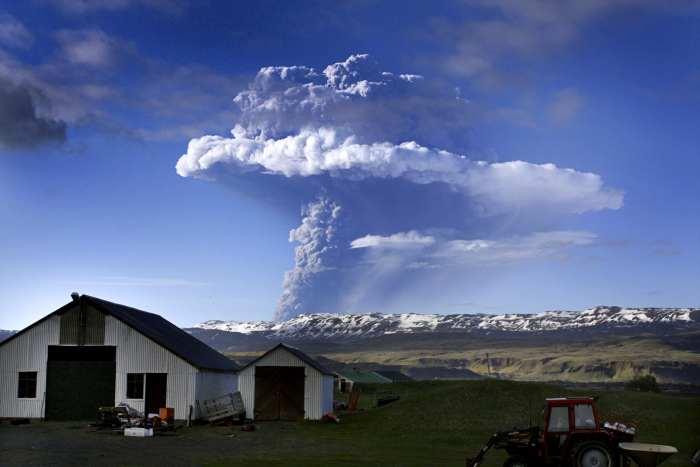 vulcão, islândia