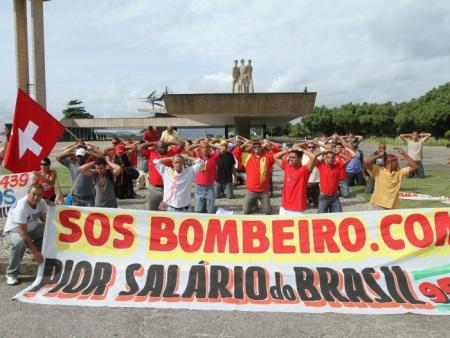 Manifestação Bombeiros