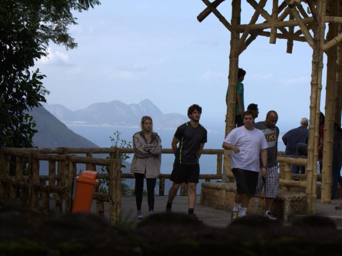 Alexandre Pato e Bárbara Berlusconi  passeiam pelo Rio de Janeiro