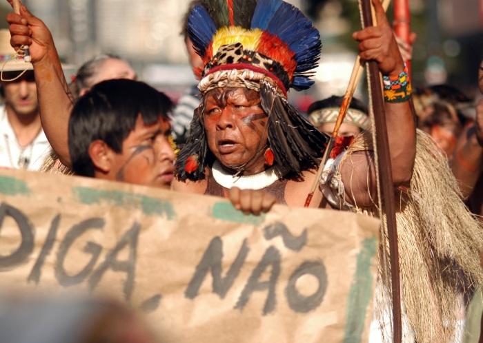Protesto Belo Monte