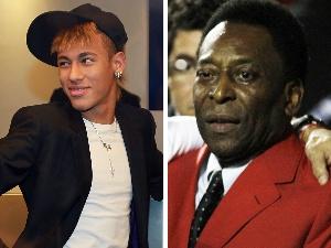 Neymar Pelé - 300 x 225