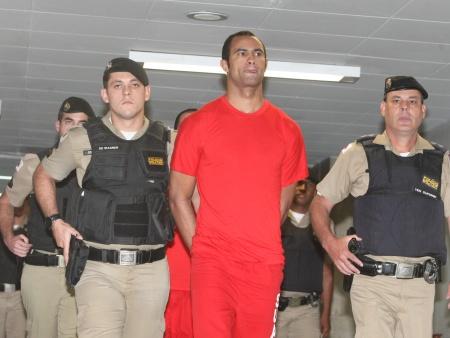 O goleiro Bruno Fernandes