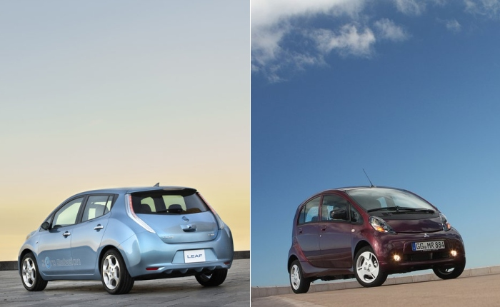 Leaf MiEV montagem G