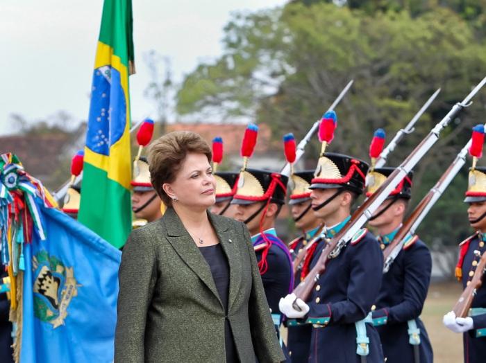 Presidenta Dilma Rousseff participa de cerimônia na Aman