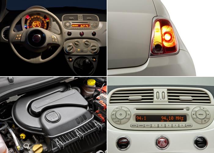 Fiat 500 4 montagem