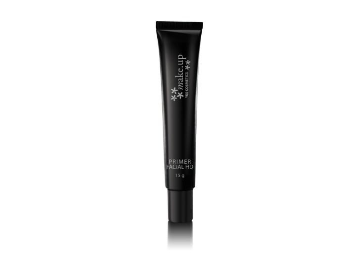 Indicado para iniciar a maquiagem o primer HD tem cobertura translúcida e é indicado para todos os tipos de pele, R$ 29,50, da Yes! Cosmetics (SAC: 0800-97...
