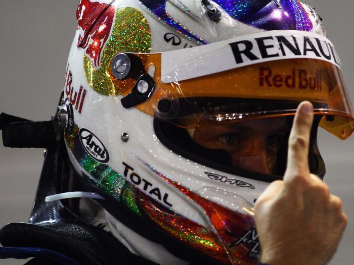 Vettel, 700