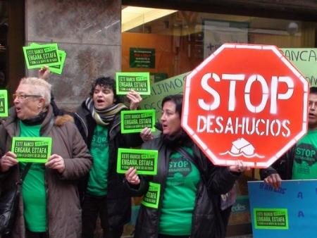 Mais de 500 famílias são despejadas diariamente na Espanha