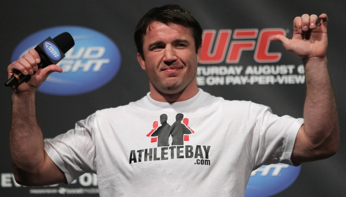 Chael Sonnen perde a linha e faz piada - Esportes - R7.com