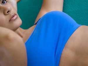 Exercícios regulares e alimentação adequada deixam os seios bonitos e saudáveis