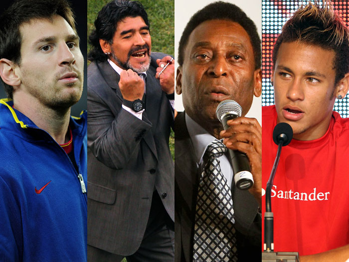 """Maradona diz que Pelé """"tomou o remédio errado"""" para achar ..."""