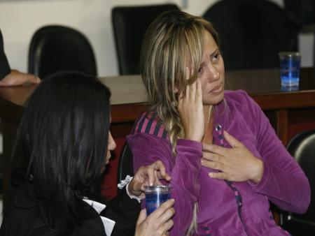 viuva adriana almeida após a absolvição- rio bonito - 03.12.2011