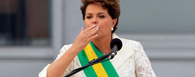 Dilma posse destaque