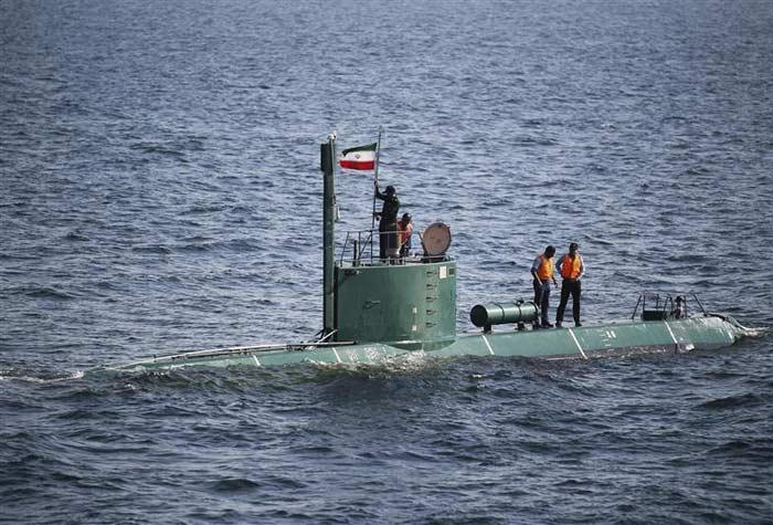 submarino, irã, ormuz, estreito, 700