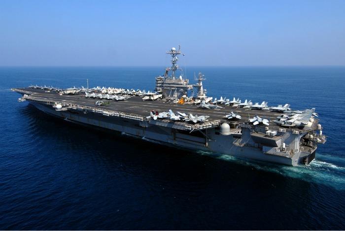 navios dos EUA