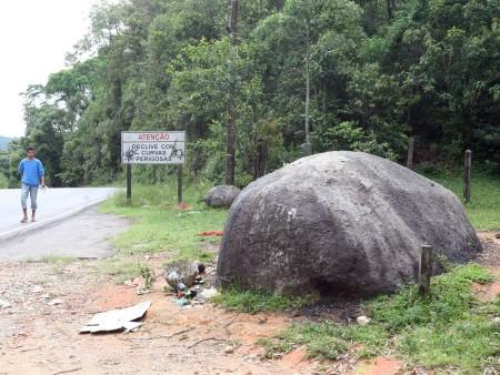 pedra da macumba