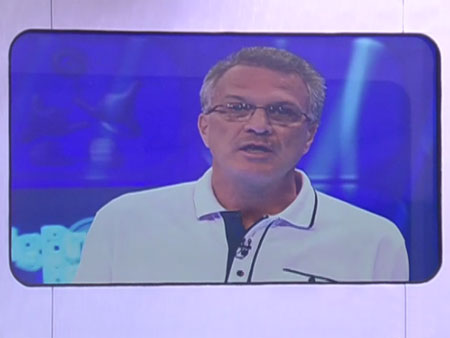 Pedro Bial anuncia racionamento de água
