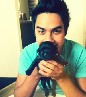 Koba e seu cão