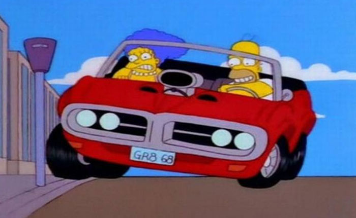 Untitled 7 Veja quais s&atilde;o os carros dos Simpsons na vida real