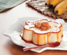 Bavaroise de banana: a sobremesa francesa com um toque brasileiro