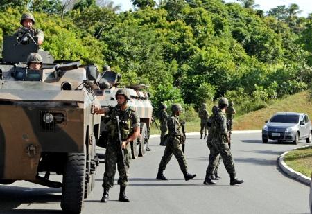 Exército Bahia Greve