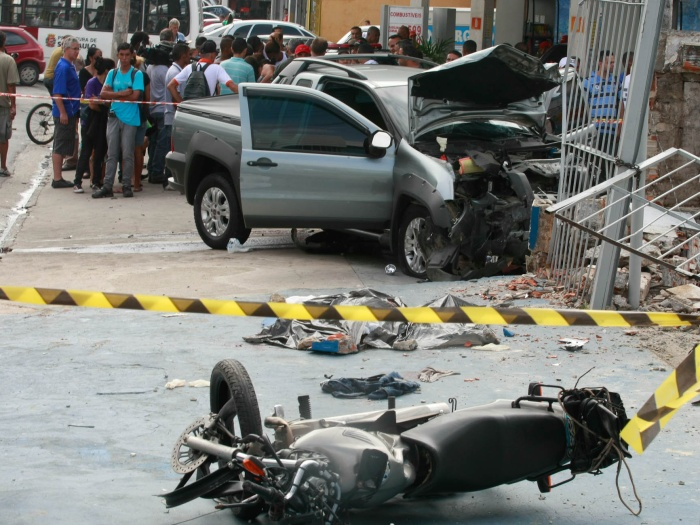 acidente estrada de M´Boi Mirim