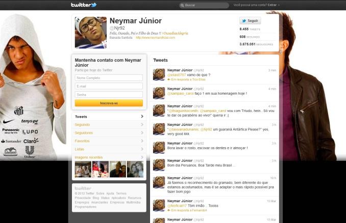 twitter neymar-700