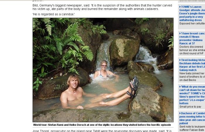 Reprodução/17.10.2011/Daily Mail