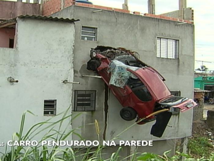 carro prédio