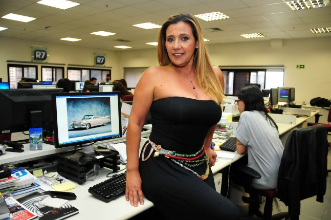 Fabiana Teixeira pode interpretar Rita Cadillac no filme Serra Pelada ...