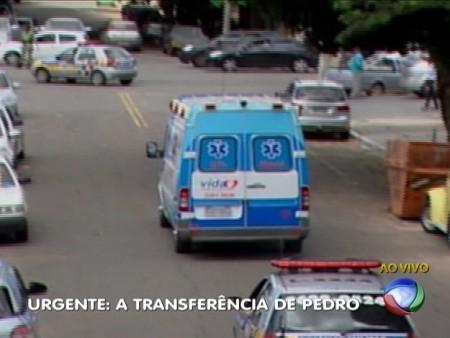 pedro ambulância