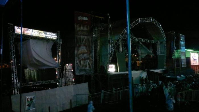 Estrutura palco