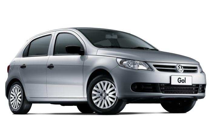 1º: Volkswagen Gol— 10.705 ocorrências