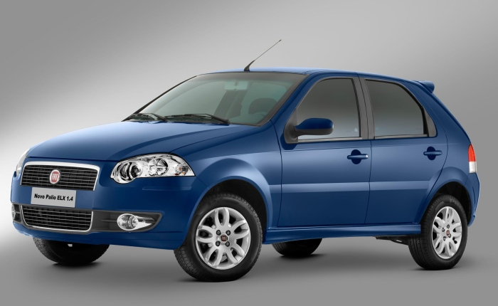 3º: Fiat Palio— 3.957 ocorrências