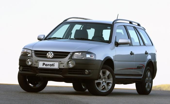 9º: Volkswagen Parati— 1.230 ocorrências