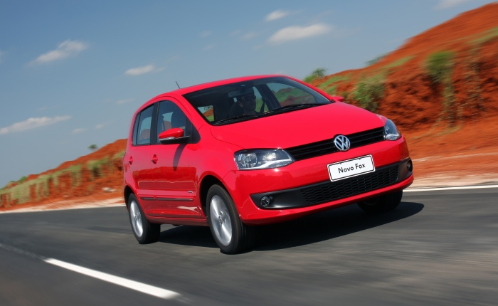 10º: Volkswagen Fox— 1.186 ocorrências