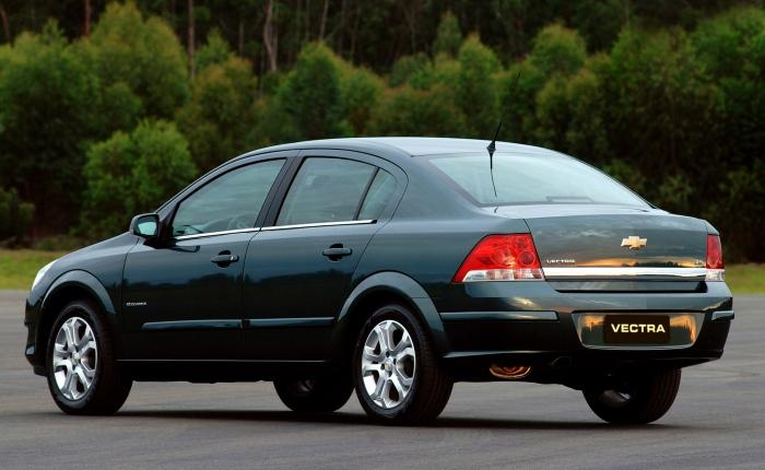 15º: Chevrolet Vectra— 876 ocorrências