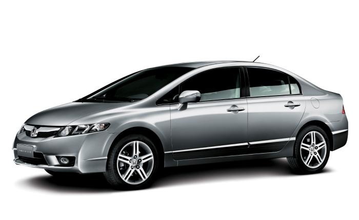 18º: Honda Civic— 845 ocorrências