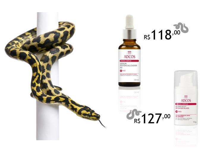 Conheça marca brasileira que usa cobras para acabar com rugas ...