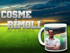 Concorra a canecas do blogueiro Cosme Rímoli e a camisas do Corinthians