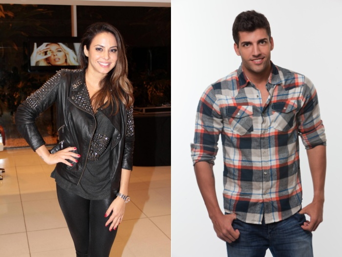 Alinne Rosa e Diego Pombo