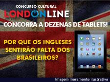 <i>Londonline</i>: são dezenas de tablets! Um pode ser seu!