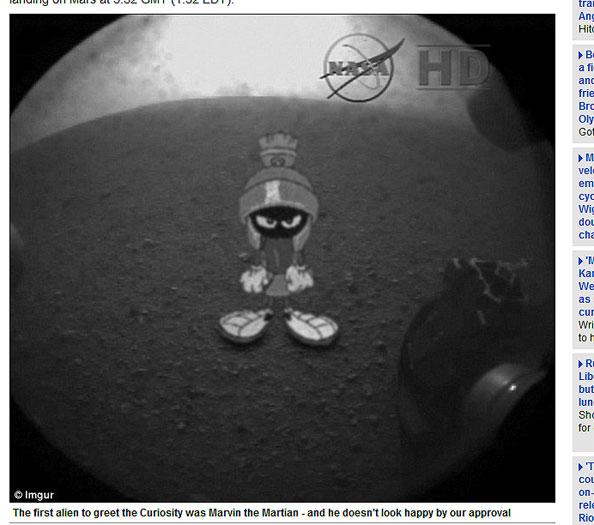 Memes sobre o robô Curiosity bombam na internet - Foto 15 ...