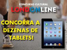 <i>Londonline</i>: tá acabando! Não perca tempo!