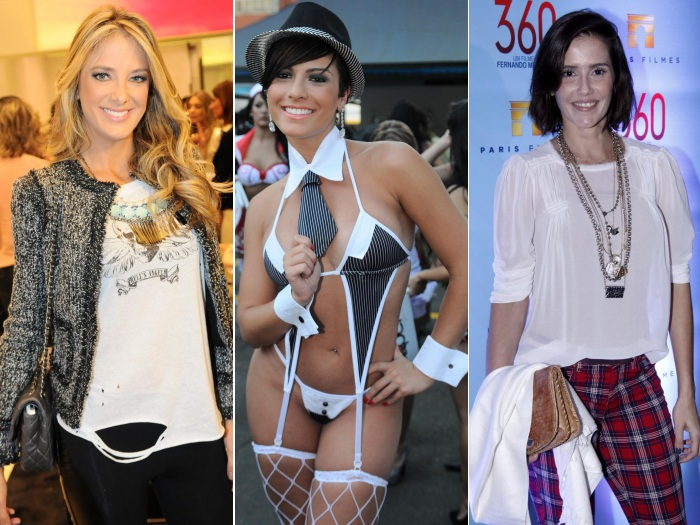 Deborah Secco, Ticiane Pinheiro e Babi Rossi
