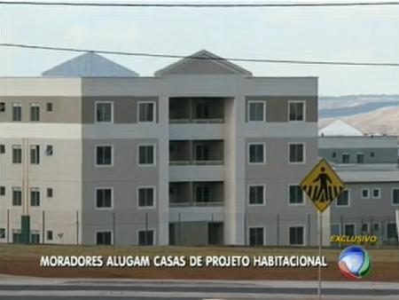 Proprietários alugam imóveis irregularmente de programa habitacional do DF