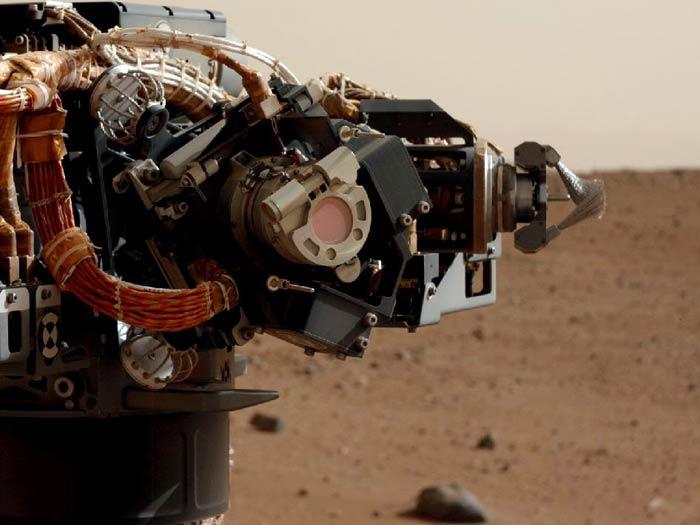 braço robô curiosity